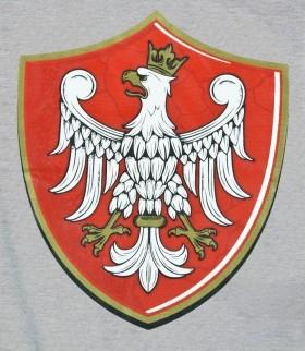 """Orzeł Piastowski """"Tarcza"""" szara"""