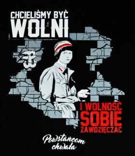 """Powstańcom chwała """"Polska Walcząca"""""""