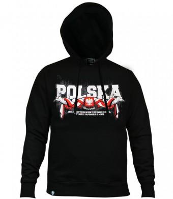 """Bluza kangurka  """"Polska-Urodzeni Patrioci"""""""