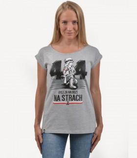 """Koszulka damska """"Za młodzi na strach"""""""