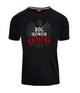 Koszulka Bóg Honor Ojczyzna