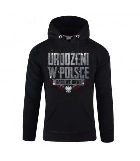 Bluza z kapturem Urodzeni w Polsce