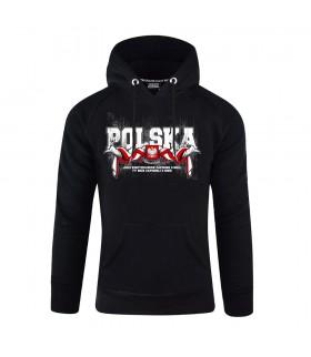 Bluza z kapturem POLSKA - Urodzeni Patrioci