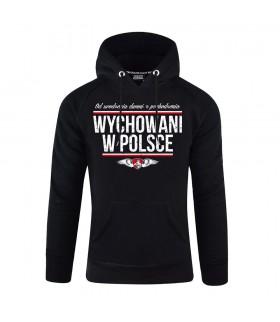 Bluza z kapturem Wychowani w Polsce
