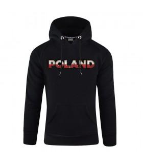 Bluza z kapturem POLAND Flaga