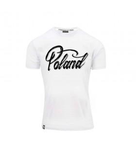 Biała Koszulka POLAND