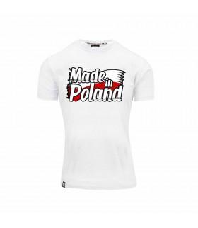 Biała Koszulka Made in Poland
