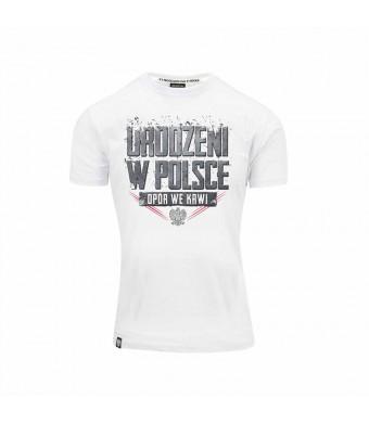 Biała Koszulka Urodzeni w Polsce