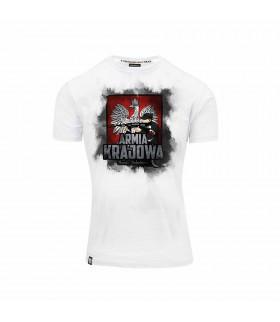 Biała Koszulka Armia Krajowa Chwała Bohaterom